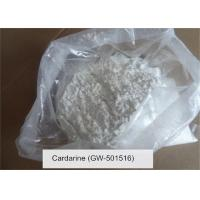 Buy cheap GW 501516 SARMS Raw Powder Series Cardarine CAS 317318-70-0 White Steroid from wholesalers