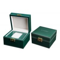 Buy cheap Empty Wooden PU Leather Watch Box MDF Wrapped Velvet Inside 295 X 85 X 40mm product