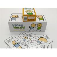 Buy cheap Lovely Joking Hazard Card Game With Color Box Unique Design 360pcs product