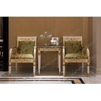 Buy cheap Modern Vintage Wooden Living Room Decorative Wholesale Upholstery Armchair from wholesalers