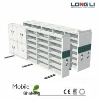 China Security double side movable mobile shelving on sale