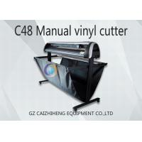 Buy cheap Maual LED C48 Digital Cutting Plotter Machine 1300mm Easy Operation product