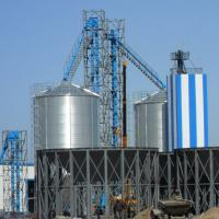 Supply Africa Used Hot-Dipped Galvanized Pressed Steel Water Tank