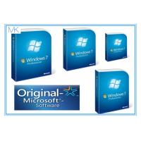 China Microsoft For SP1 Windows 7 Professional 64 Bit Retail System Builder DVD Retail Pack on sale