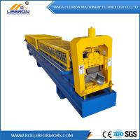 Buy cheap Full Automatic Durable Half Round Metal Gutter Roll Forming Machine cost effective from wholesalers