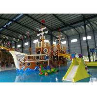 Buy cheap Anti Static Water Playground Equipment 2.2 - 2.6 Mm Thick High Strength Cold Roll Steel from wholesalers