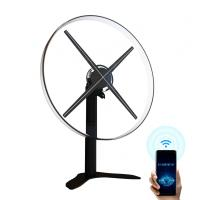 Buy cheap 52cm Hologram Fan Display , Acrylic Cover Led 3d Holographic Projector product