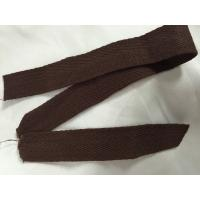 Buy cheap Colored Woven Polyester Tape , 50 Mtrs / Roll Cotton Herringbone Ribbon from wholesalers