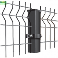 Buy cheap Galvanized Steel Pvc Coated Welded V Mesh Security Fencing 50*150mm from wholesalers