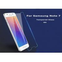 Buy cheap Glass Tempered Samsung Note 7 Screen Protector 2.5 D 9H Clear Scratch Proof from wholesalers