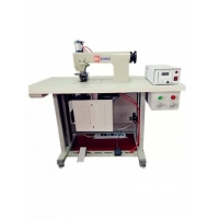 Buy cheap 20khz Sewing Machine with rotray horn for continuous fabric/ PU/ Non-woven welding from wholesalers