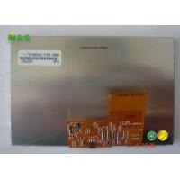 Buy cheap Hard 480*272 Dot Resolution Samsung LCD Screen 4.8 Inch LTE480WQ-F02 from wholesalers