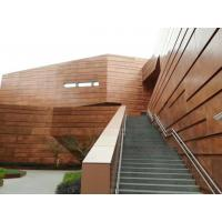 Buy cheap Anti Static Copper Aluminum Composit Building Material Gold Copper Brushed from wholesalers