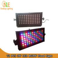 Buy cheap 72pcs 3W RGB Waterproof LED Flood Lights| led wall washer light|Ground Lights from wholesalers