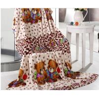 Buy cheap Downy Coral Fleece Blanket For Adult And Children , Home And Hospital Use from wholesalers