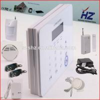 Buy cheap wireless alarm kit PIR/door/smoke/gas sensor for security protection from wholesalers