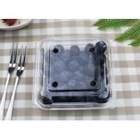 Buy cheap Plastic Blueberry box, Disposable fruit container Clear PET from wholesalers