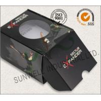 Buy cheap Black Custom Printed Corrugated Packaging Boxes For Elegant Watch / Electronics from wholesalers