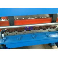 Buy cheap Concrete Roof Tile Making Machine Hydraulic Cutting Roll Forming Lines For Construction product