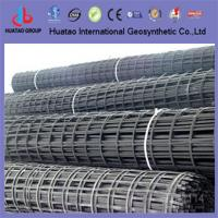 Buy cheap retaining wall reinforcement biaxial fiberglass geogrids from wholesalers