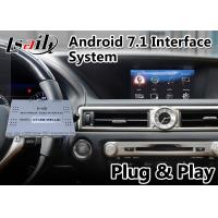 China 32GB ROM Carplay Android Video Interface For Lexus GS300h GS 300H 2012-2015 Mouse Control Model on sale