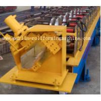 Buy cheap Half-round Seamless Gutter Roll Forming Machine High Speed Chain Transmission 16 Stations from wholesalers