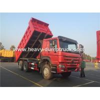 Buy cheap Sinotruk Howo 371 Hp Tipper Heavy Load Truck For Bad Road Condition And Overloading product