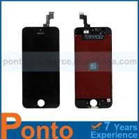 Buy cheap Pontomall Repair Parts LCD Digitizer Assembly Black For iPhone 5S, For iPhone 5s LCD Digitizer Assembly from wholesalers