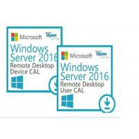 Buy cheap 50 User Connections Computer PC System Windows Server 2016 Remote Desktop Services from wholesalers