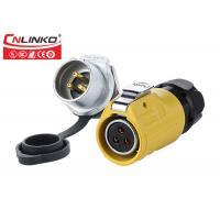 Buy cheap M20 Soldering 3Pin Female Plug Male Socket Panel Mount Waterproof Plastic from wholesalers