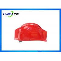 Buy cheap Large Battery HD Camera 4G Wireless Device Intelligent Safety Helmet For Railway Mining product