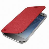 Buy cheap Stylish Leather Flip Cover and Shell Case for Samsung Galaxy S3 from wholesalers