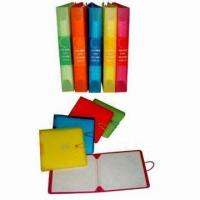 Buy cheap 12-Disc CD and DVD Wallets with Elastic Closure and Metal Button from wholesalers