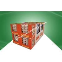 Buy cheap Glossy / Matt PP Laminated Cardboard Paper Dump Bin Display For Retail Food Products from wholesalers