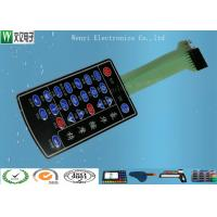 Buy cheap PET Membrane Switch Connectors Pitch 2.54mm , Embossed Key Tactile Switch Keypad from wholesalers
