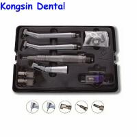 Buy cheap Three-piece suit contra angle low speed straight dental handpiece set from wholesalers