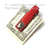 Buy cheap Retail new fashionable stainless steel money clip wallet from wholesalers