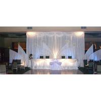Buy cheap Top Quality Sheer Drapes For Wedding Fabric for kids curtains decorative lighted wall panels from wholesalers