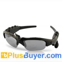 China MP3 Player Sunglasses with Bluetooth - 4GB on sale