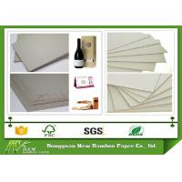Eco-friendly Stiffness Thicker Grey Straw Board Paper Standard size 889mmx1194mm