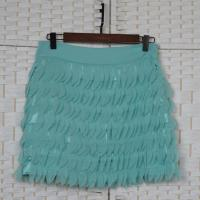 Buy cheap Fashion Multi Layered Mini Chiffon Skirt For Young Ladies OEM ODM Acceptable product