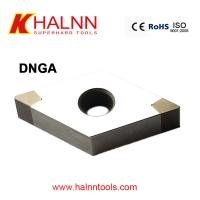 Buy cheap DNGA150404 BN-H11 Halnn Welded PCBN indexable inserts for machining bearing steel from wholesalers