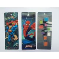 Buy cheap 3D Multi color Printing 0.6mm PET 3D Lenticular Bookmarks With Custom Size SGS from wholesalers