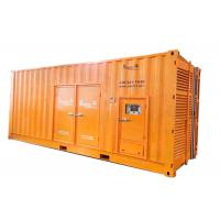 Buy cheap 50Hz 680 KW 3 Phase Diesel Generator 4 Wires With 10 Turbocharger from wholesalers