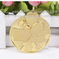Buy cheap Polish gold badminton medals, a selection of metal blank sports medals available, from wholesalers