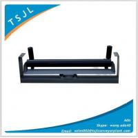 Buy cheap Carbon steel flat belt conveyor carrying idler from wholesalers