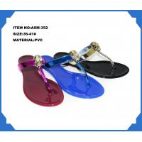 Buy cheap Sell ladies PVC fashion slippers ASM-352 36-41# from wholesalers