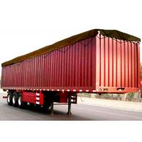 Buy cheap Hot Sale China brand new box truck trailer 3 axles 50tons 48ft Enclosed Van Cargo Trailer (Semi Closed, Open Style Optio product