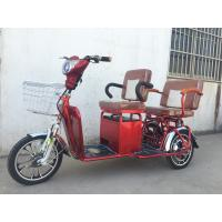 Buy cheap Two Persons 3 Wheel Electric Tricycle Scooter 800W Brushless Steel Frame from wholesalers