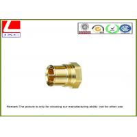 Buy cheap Precision Metal Male Female Thread Brass Machine Parts CNC Spare Parts product